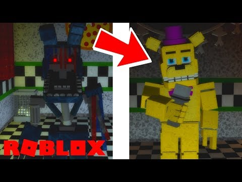 Finding All Of The Secret Badge Animatronics In Roblox The - how to unlock all secret characters 1 11 in roblox fredbear and friends family restaurant