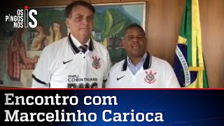 Bolsonaro veste camisa do Corinthians; veja vídeo