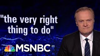 Lawrence: Senator Chuck Grassley Proves That Senator Grassley Is Lying | The Last Word | MSNBC