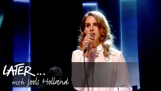 Lana del rey performs video games on later... with jools holland.watch more iplayer: bbc.co.uk/iplayer