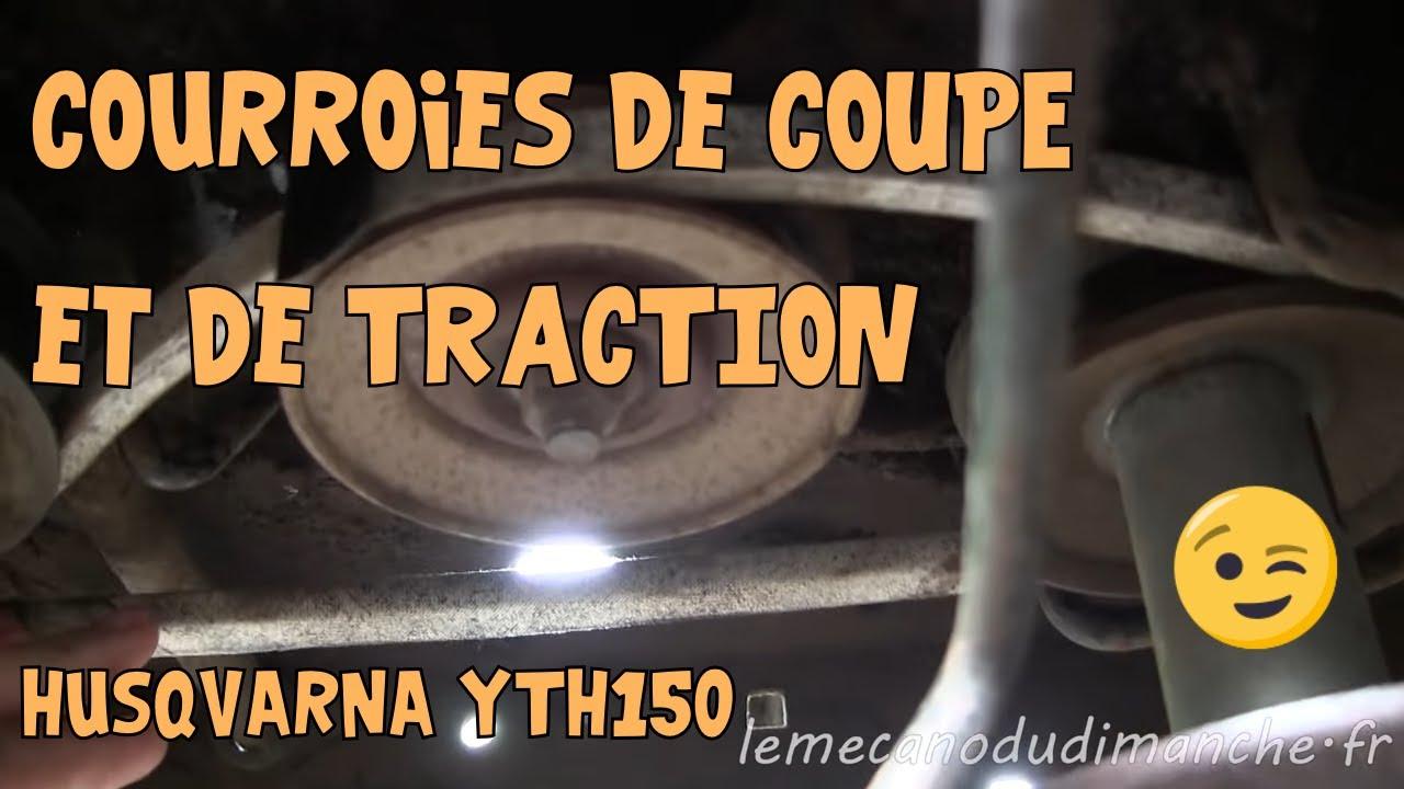 Tuto Husqvarna Yth150 07 Courroies De Coupe Et De Traction