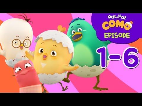 Como Kids TV | Episode 1-6 | Cartoon video for kids