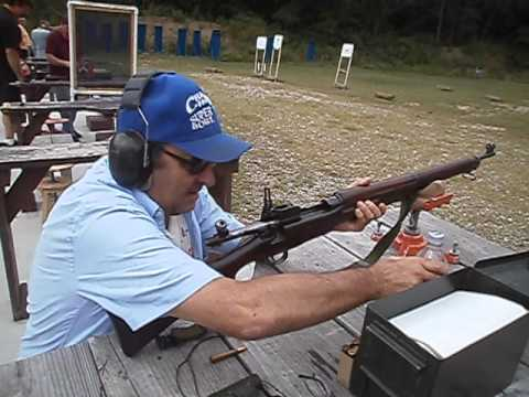 Jerry shooting his P14 Enfield