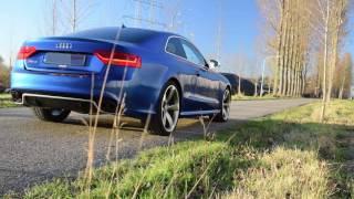 Audi RS5 w/ Akrapovic Titanium Sport Exhaust