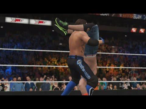 WWE 2K17 Finishers