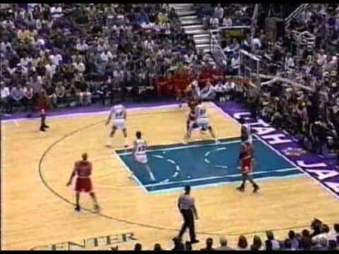 1998 NBA Finals   Game 6   Chicago @ Utah part 1