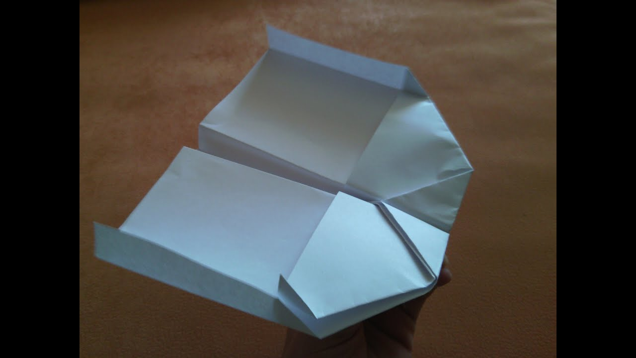 How To Make Stunt Paper Plane YouTube - Box paper airplane