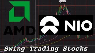 Why I Bought AMD and NIO Stock | Swing Trading Stocks