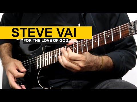 Solo completo da For The Love Of God do MESTRE Steve Vai