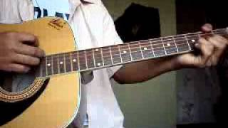 teri deewani by kailash kher on guitar