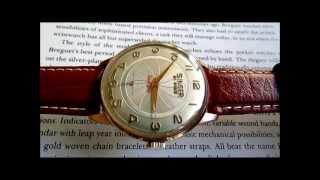 Singer vintage wristwatch 1950