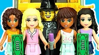 LEGO Friends Shops & Train Wreck Terror