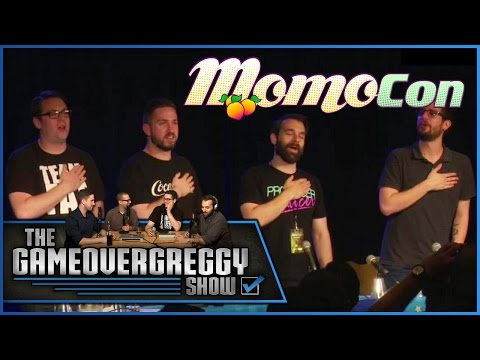 We Sing the Star Spangled Banner - The GameOverGreggy Show (Live at Momocon 2015)