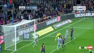 اهداف مباراة برشلونة 5-1 أوساسونا 27/1/2013