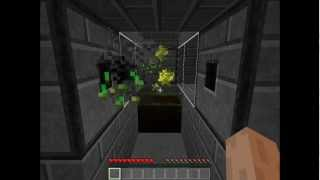 Minecraft Tutorial - 1 block weat farm - S b S