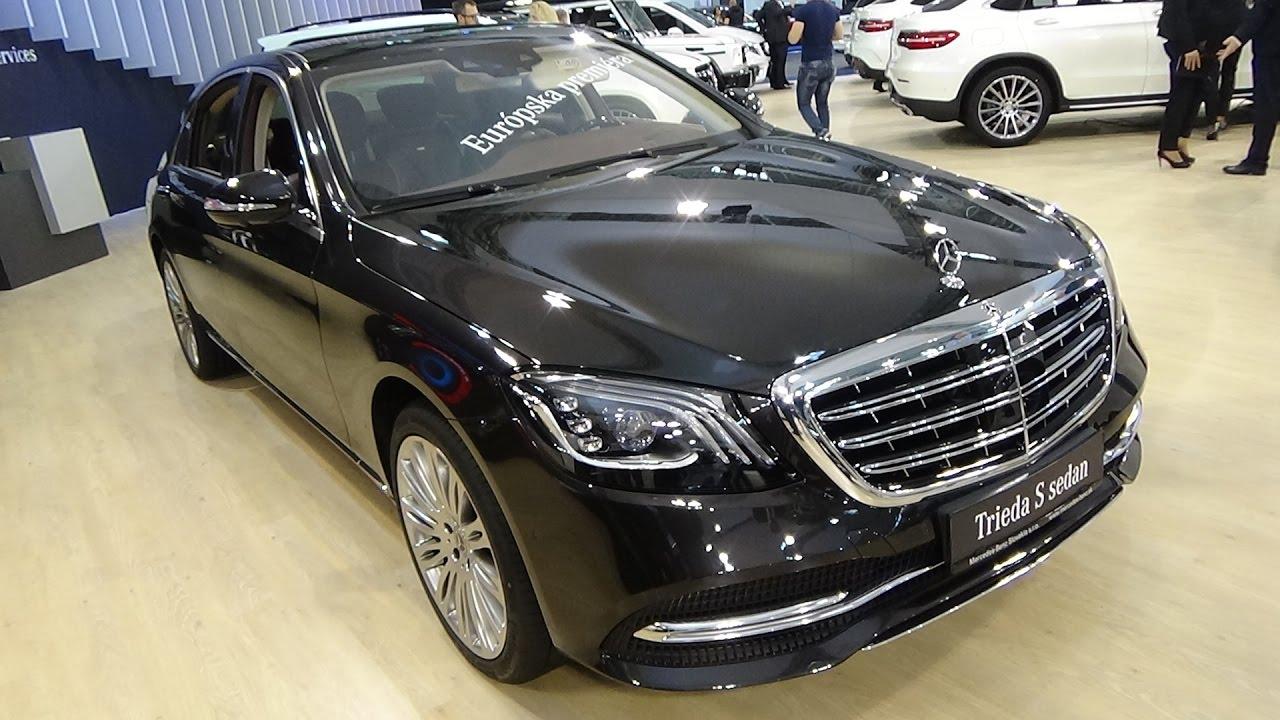 2018 Mercedes Benz S Classe Sedan Exterior And Interior Auto