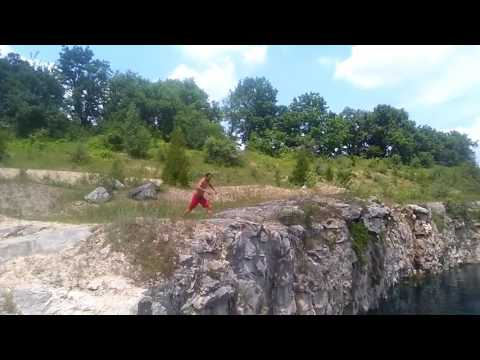 Dolime Quarry Jump