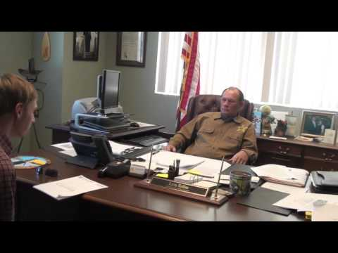 Interview with Sheriff Larry Rollins of Harnett County, NC