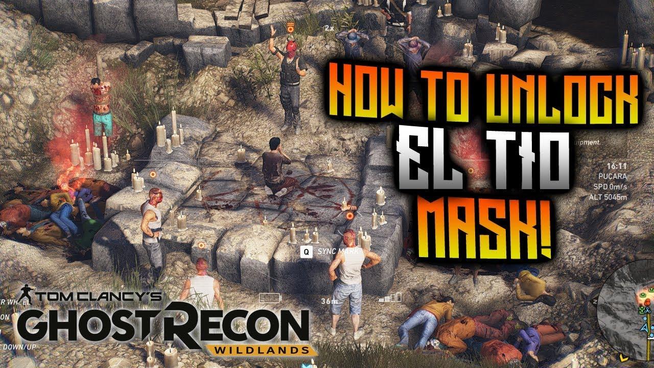 Ghost Recon Wildlands - How To Unlock Broken El Tio Mask!