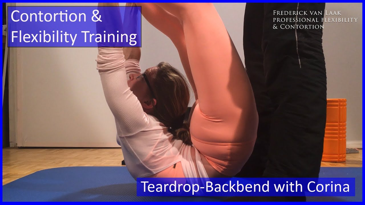 118 Flexyart Contortion Training: Teardrop Backbend - Also for Yoga, Pole, Ballet, Dance People