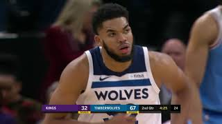 Sacramento Kings vs Minnesota Timberwolves | December 17, 2018