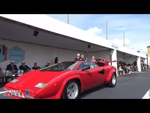 Part 3, Lamborghini Countach & Concorso d'Eleganza 2017. Marzal, LM002, Espada