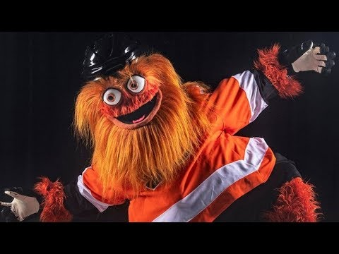 A.J. - This Is One Horribly Ugly And Scary Hockey Mascot!