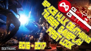 Space Hulk 2 Deathwing Gameplay  PC, PS4, Xbox One 2016 2017