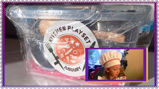 """Real Looking Kids Kitchen Toy Set  