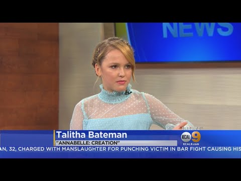 Actress Talitha Bateman Discusses Role In 'Annabelle: Creation'