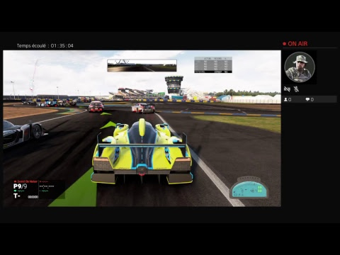 24 heures Le mansProject Cars direct de killersurprise86