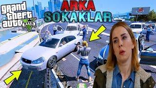 POLİSTEN KAÇAYIM DERKEN UÇURUMDAN FIRLADI! - GTA 5 ARKA SOKAKLAR MODU