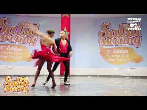 Shelina Donkers & Glenn Donkers - Salsa Show @ RABAT SALSA MEETING 2016