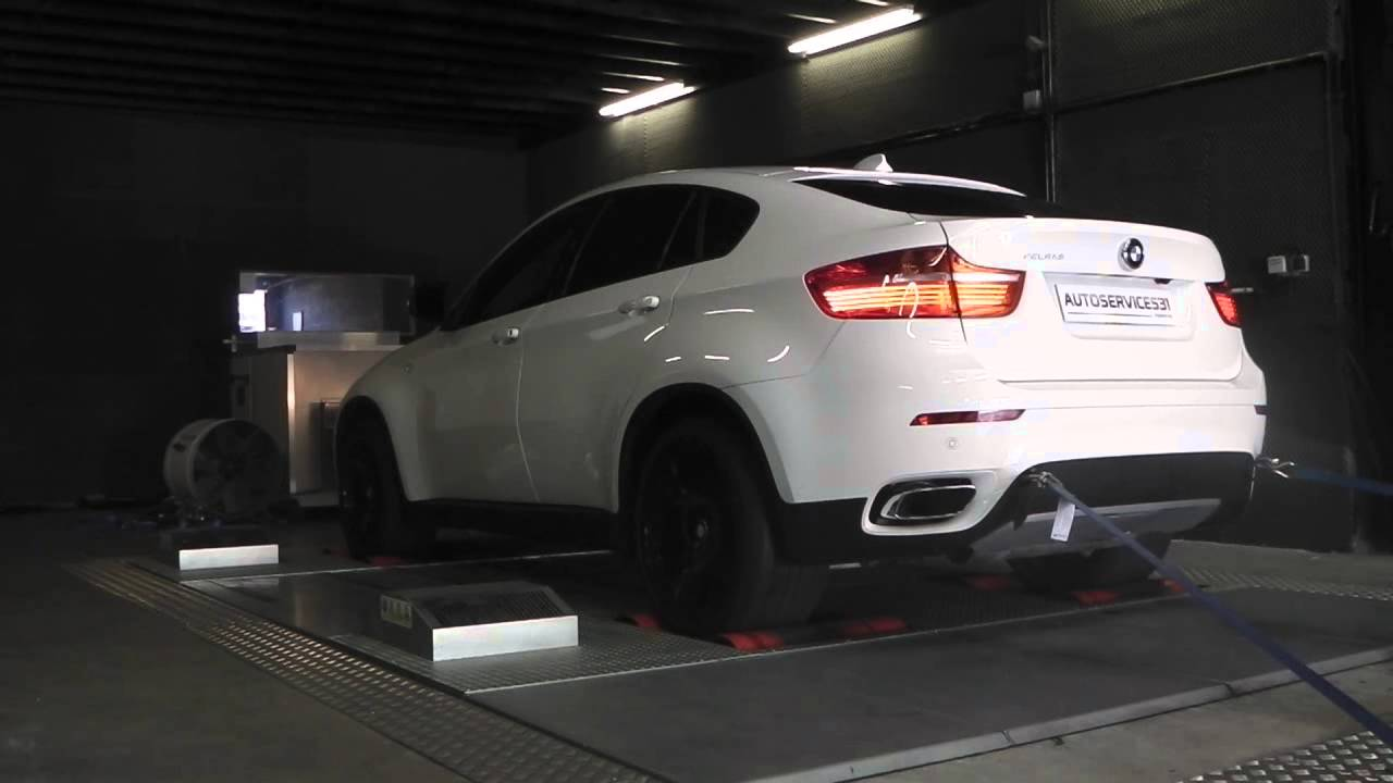 bmw x6 4 0d sur banc de puissance reprogrammation moteur autoservices 31 youtube. Black Bedroom Furniture Sets. Home Design Ideas