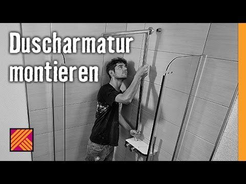 version 2013 duscharmatur montieren hornbach meisterschmiede youtube. Black Bedroom Furniture Sets. Home Design Ideas