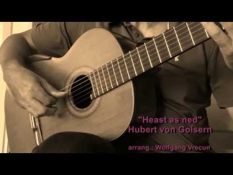 Heast as ned - Gitarre solo - Hubert von Goisern
