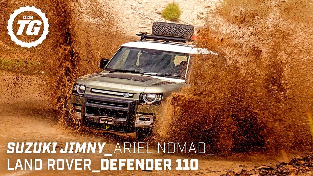 Ground-breaking Off-Roaders: New Defender, Ariel Nomad, Suzuki Jimny | Top Gear