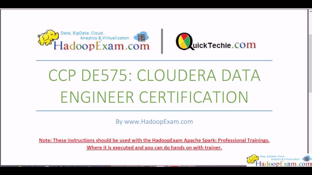 Ccp De575 Cloudera Data Engineer Exam Problem Statement 2 Youtube