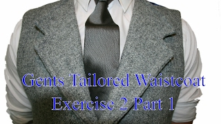 The Gents Tailored Waistcoat - Exercise 2 part 1 - How to Measure