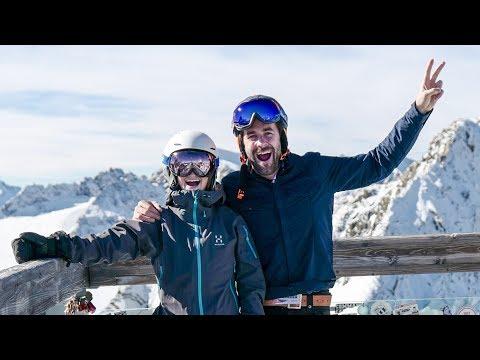 SKIING with the U.S. SKI TEAM 🤟⛷😃 Solden, Austria    VLOG 123