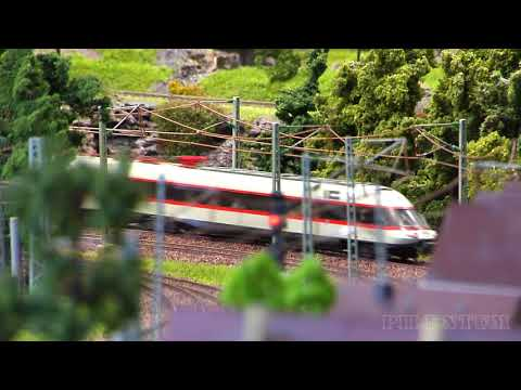 Model trains - rare and famous from Germany in HO scale