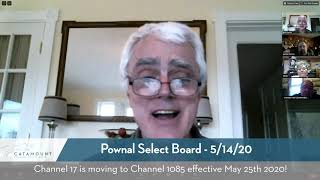Pownal Select Board Meeting // 5-14-20