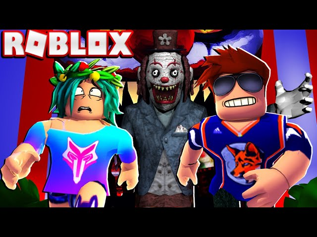 Killer Clown Roblox The Scariest Clown We Ever Met In Roblox Circus Trip Youtube