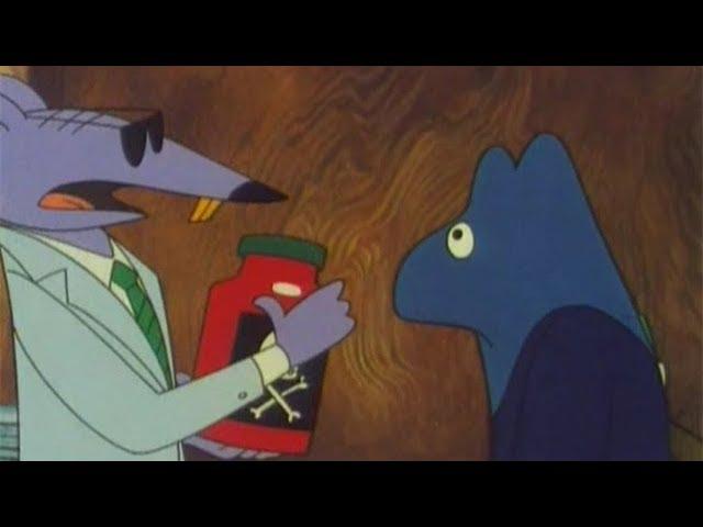 【完结】这部32年前的动画承包了无数80后的童年《邋遢大王奇遇记11-13完结》