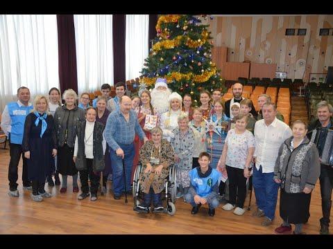 Православная молодежь поздравила подопечных пансионата «Семь Ключей» с Рождеством Христовым.