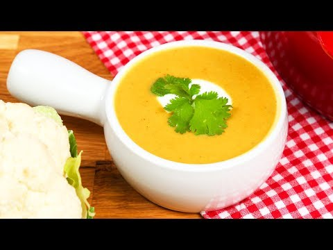 Vegan Cauliflower Soup | #Homemade