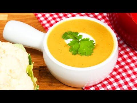 Vegan Cauliflower Soup   #Homemade