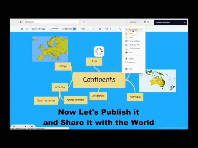 How to Create a Mind Map with GoConqr