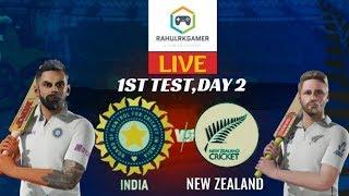 1st Test Day 2  ndia vs New Zealand 2020 Live  Cricket 19