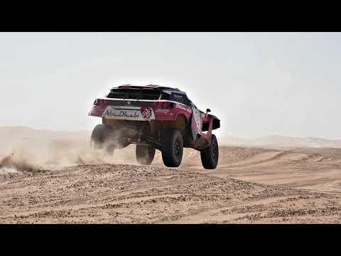 PEUGEOT Abu Dhabi Racing testing ahead of Dubai Baja 2018